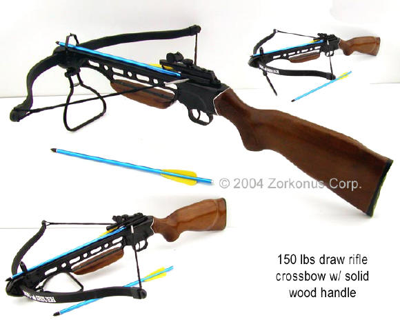 Crossbow rifle gun stock 150 pound