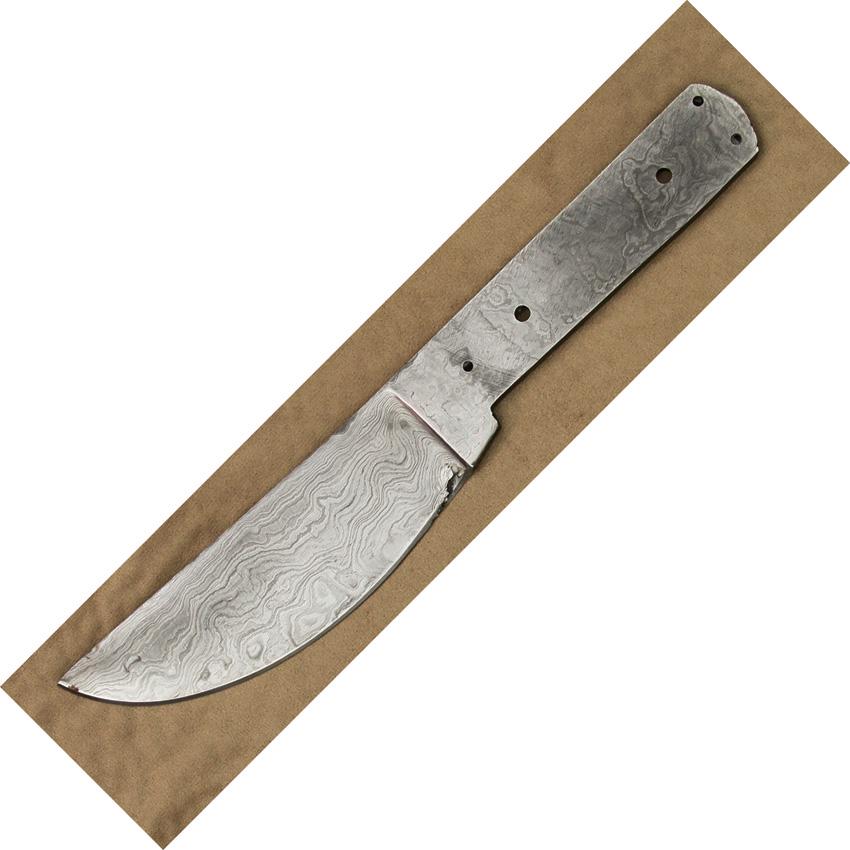 Knife Blade Designs Knife Blade Damascus Skinner b