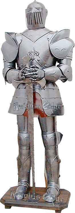 Fleur_De_Lis_Suit_of_Armor-Decorative-KE