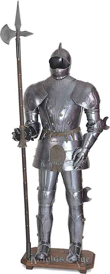 medieval suits of armor