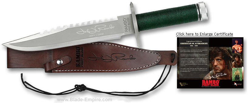 First Blood Knife, John Rambo Signature Edition, RB1s