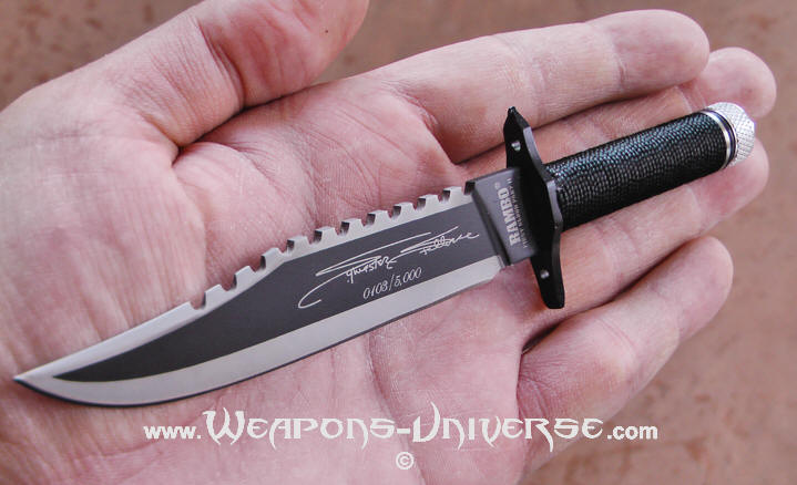 Rambo 2 Knife Miniature