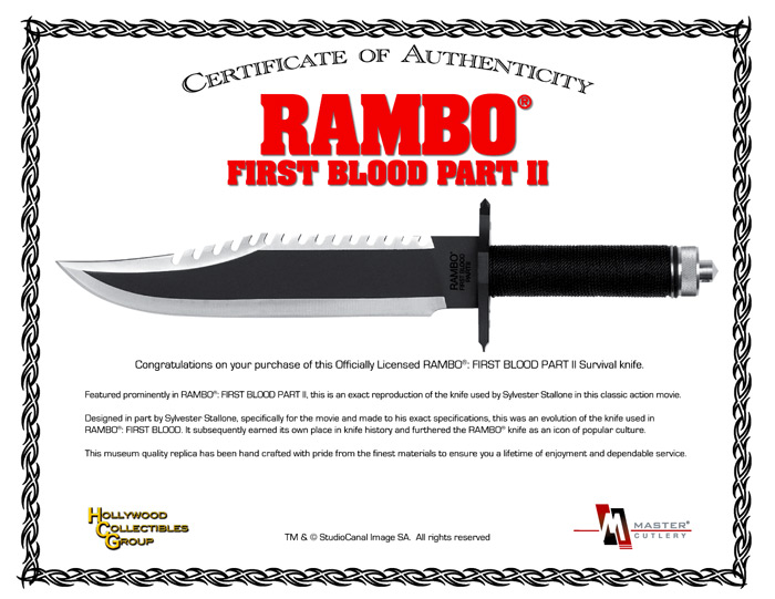 Rambo 2 Knife