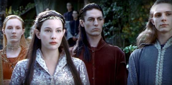 Elvish People High Elven Warrior Swo...