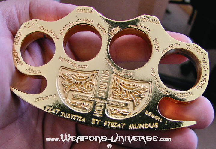 Gold Constantine Brass Knuckles