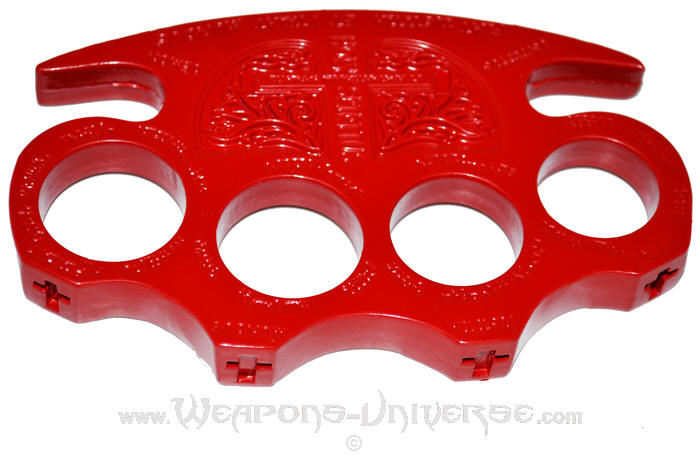 constantine brass knuckles red