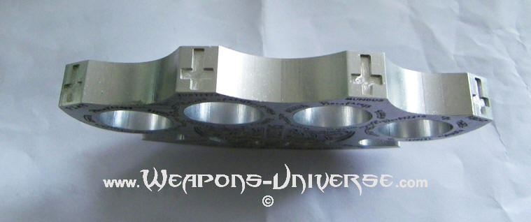 Chrome Constantine Brass Knuckles