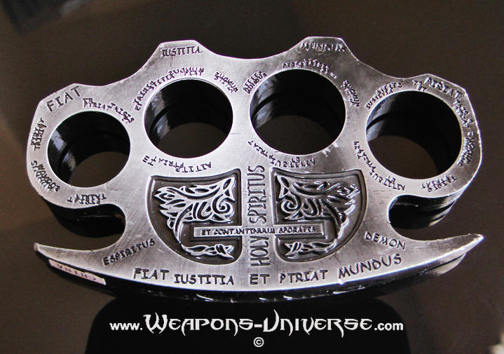 Gray Constantine Brass Knuckles