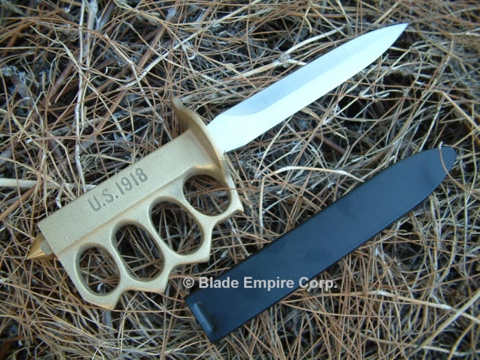 WWII Trench Knife Brass Knuckles
