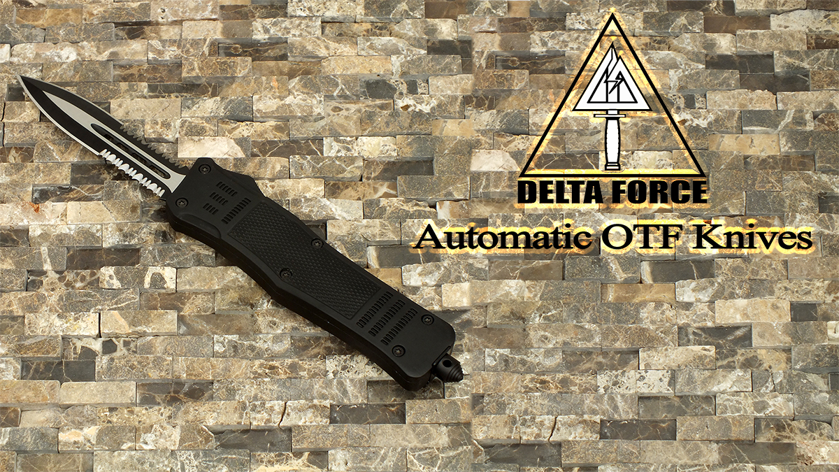 Delta Force OTF Automatic Knives