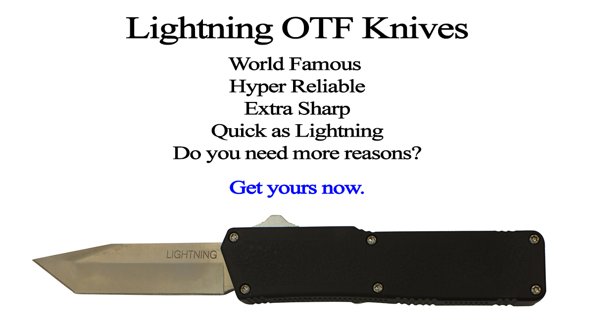 Lightning OTF Automatic Knives