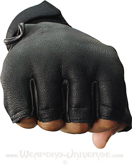 sap gloves fingerless medium