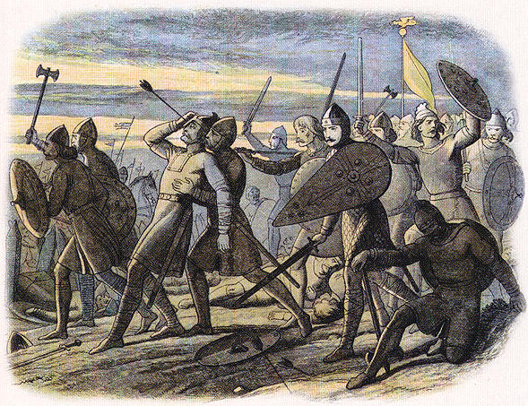 battle of hastings weapons