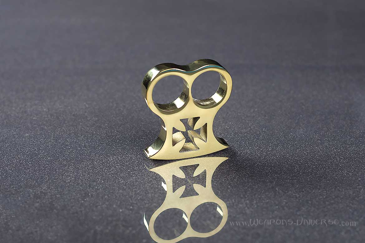 American Made Maltese Cross Two Finger Knuckles