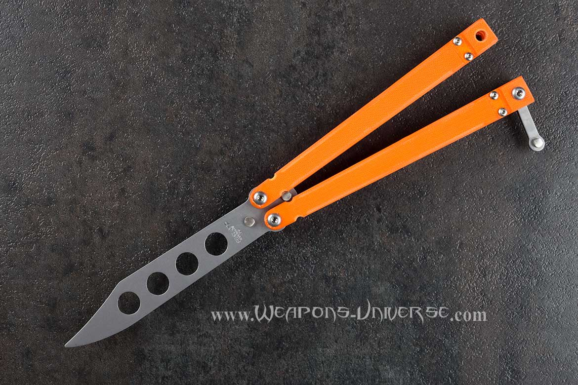 Bear Ops 201OR4P Bear Song Butterfly Knife Trainer
