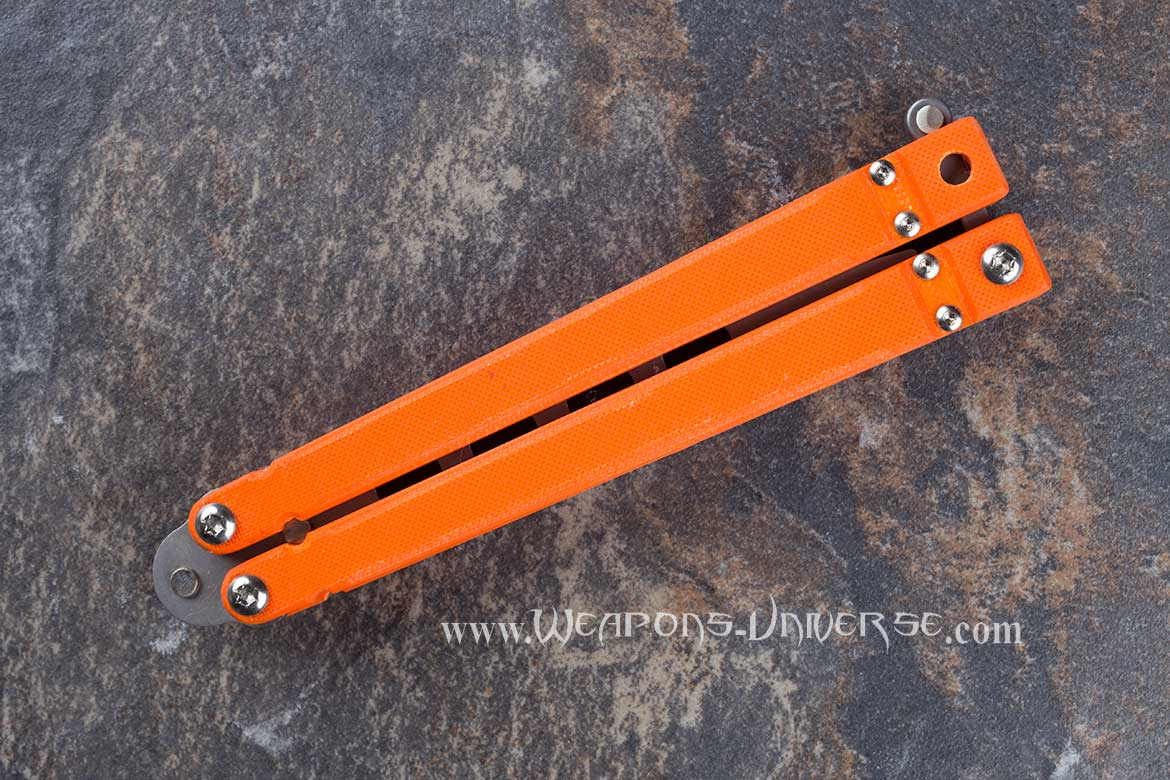 Bear Ops 201OR4P Butterfly Knife Trainer Bear Song
