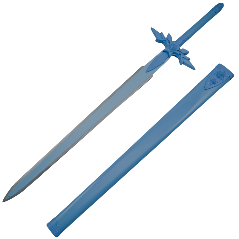 Blue Rose Prince Costume Sword With Scabbard