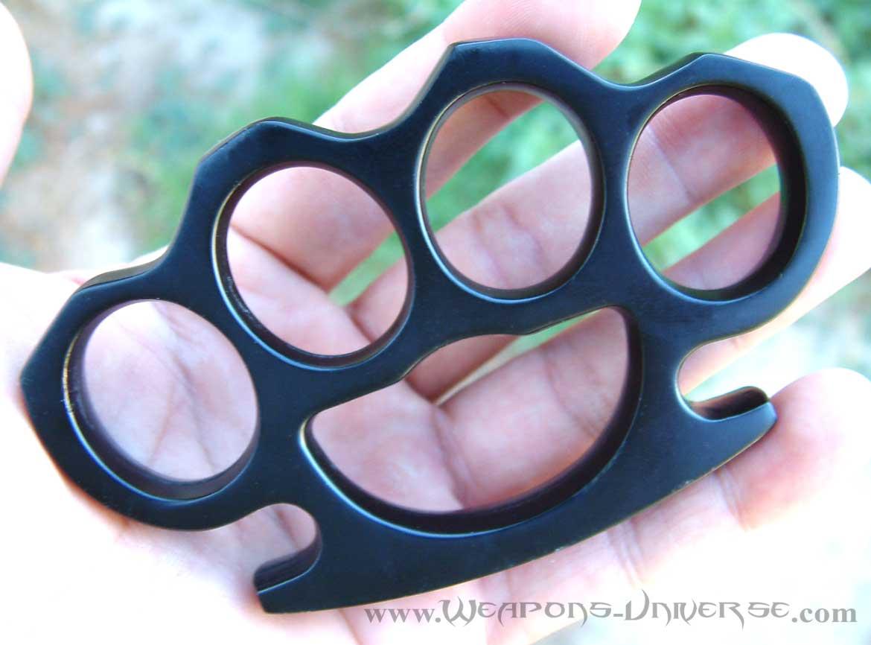 Brass Knuckles Black Large
