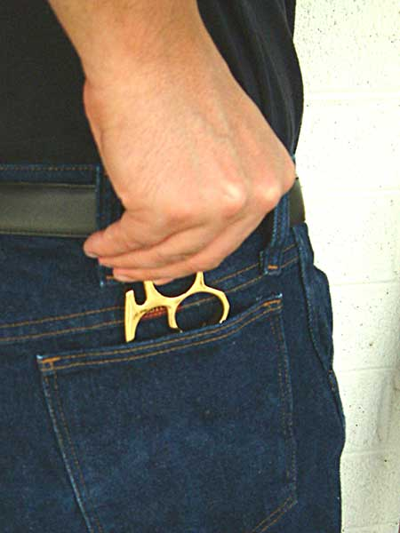 Gold Brass Knuckles, Pocket