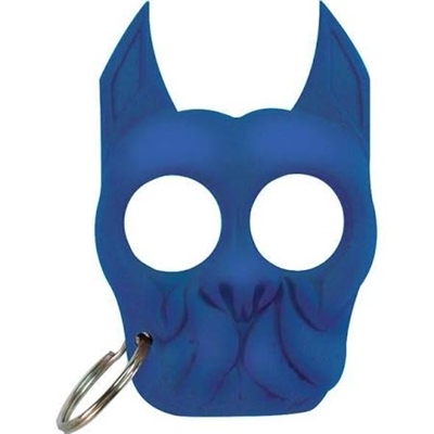 Brutus Self-Defense Keychain ABS Knuckles, Blue