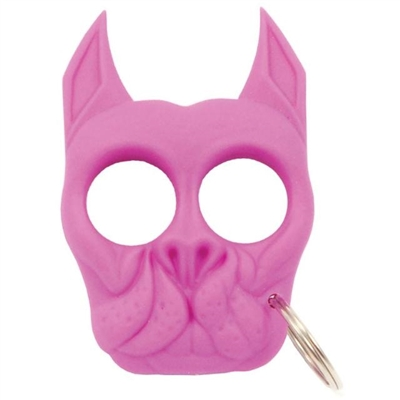 Brutus Self-Defense Keychain ABS Knuckles, Pink