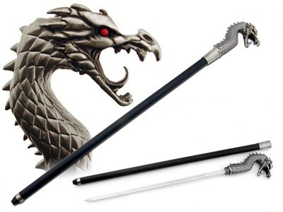 Walking stick canes and walking sticks pinterest - Cane Swords On Pinterest Swords Sea Dragon And 19th Century