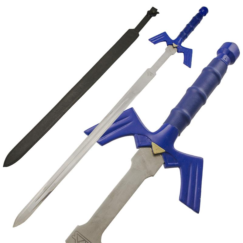Chain of Time Blue Handle Medieval Sword