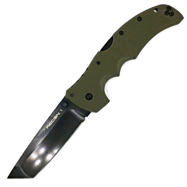 Cold Steel 27TLTVG Recon 1, OD Green G10 Handle