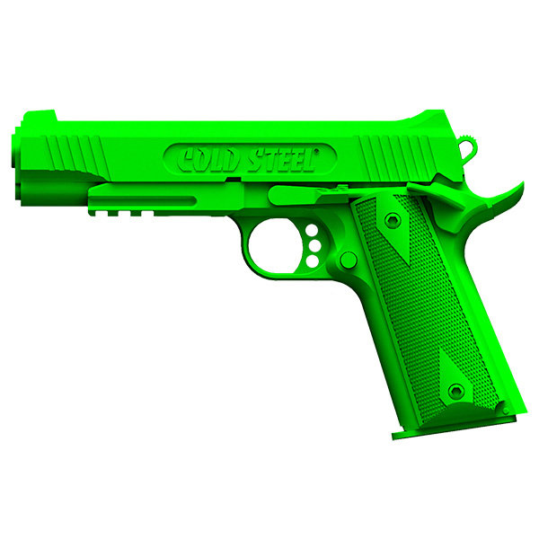 Cold Steel 92RGC11 1911 Rubber Training Pistol, Green