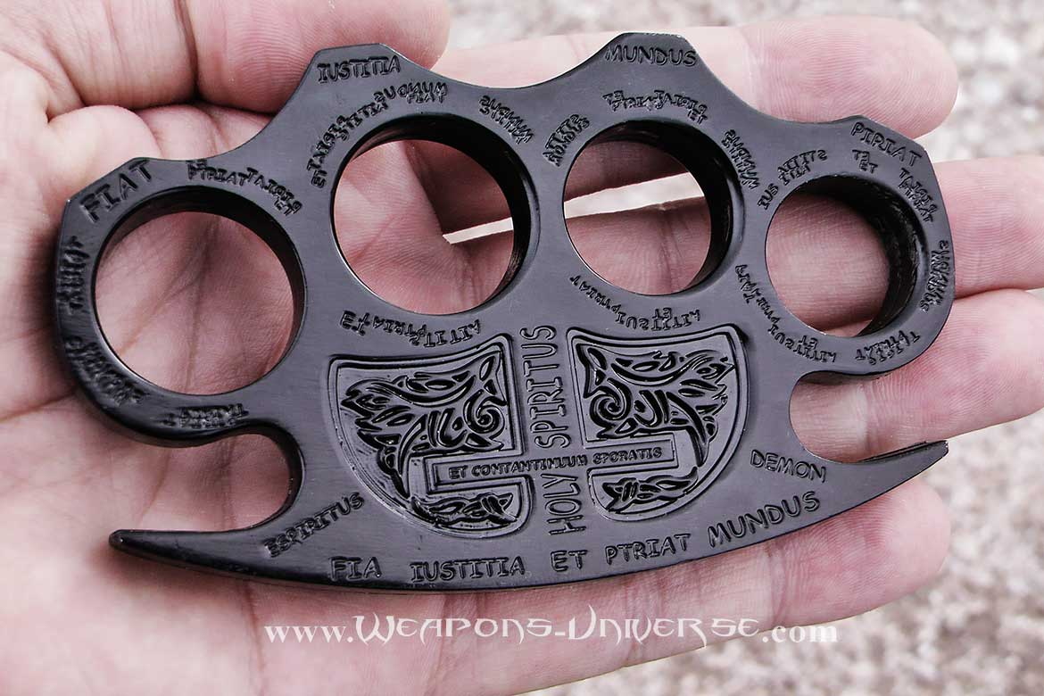 Constantine Brass Knuckles, Black