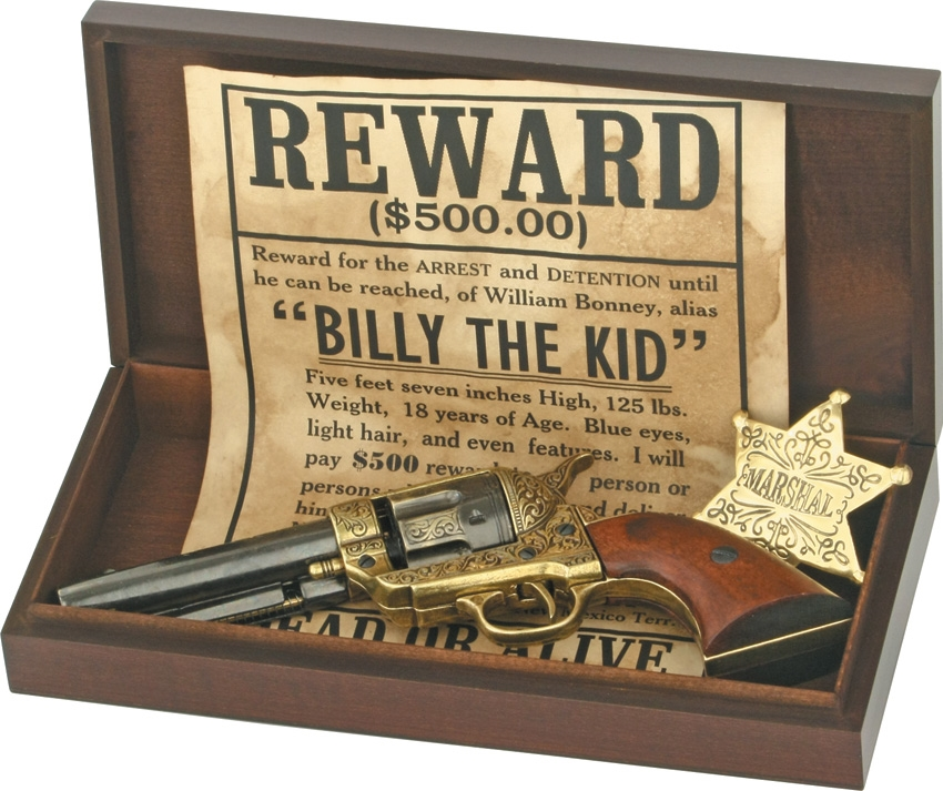 Denix DX1007A Billy The Kid Boxed Set