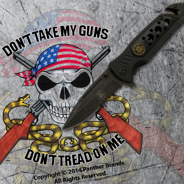 Don't Tread On Me Exclusive Tactical Knife