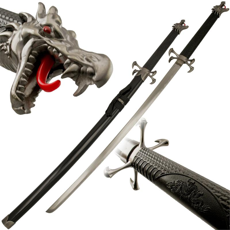 Dragon Kiss Samurai Sword Katana