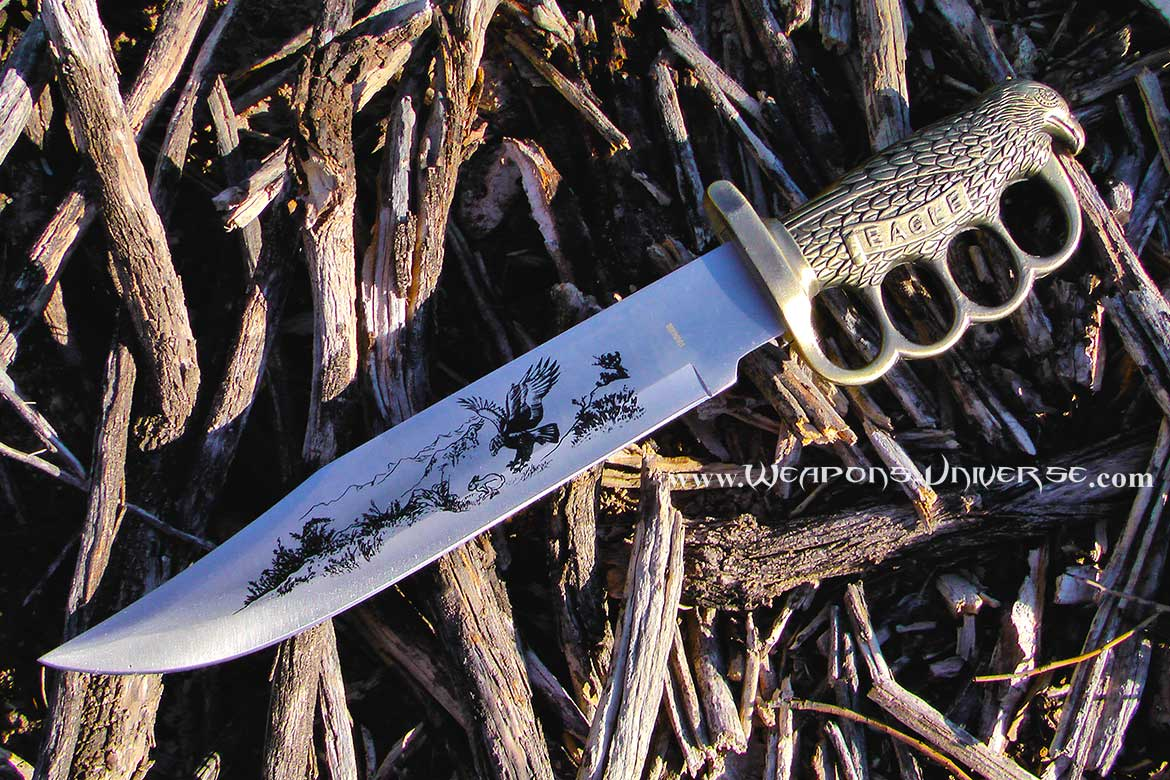 Eagle Bowie Knuckle Trench Knife