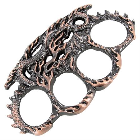 Enter the Dragon Brass Knuckles, Copper