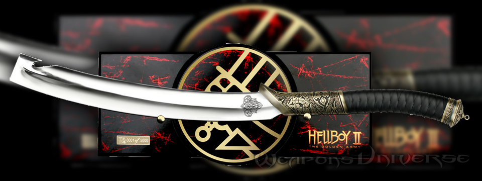 Master Cutlery Hb01l Official Hellboy Ii Sword
