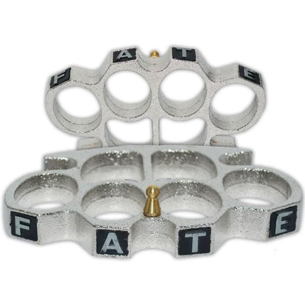 Fate Knuckles, Large, Silver