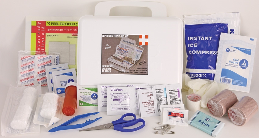 First Aid FA114 Kit General Purpose