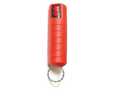 1/2 Ounce Hard Case Crime Halter Pepper Spray, Red