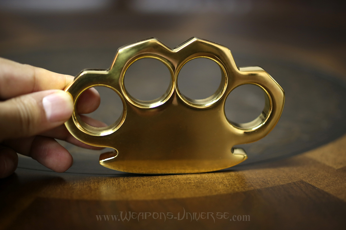 Hercules One Pound Brass Knuckles