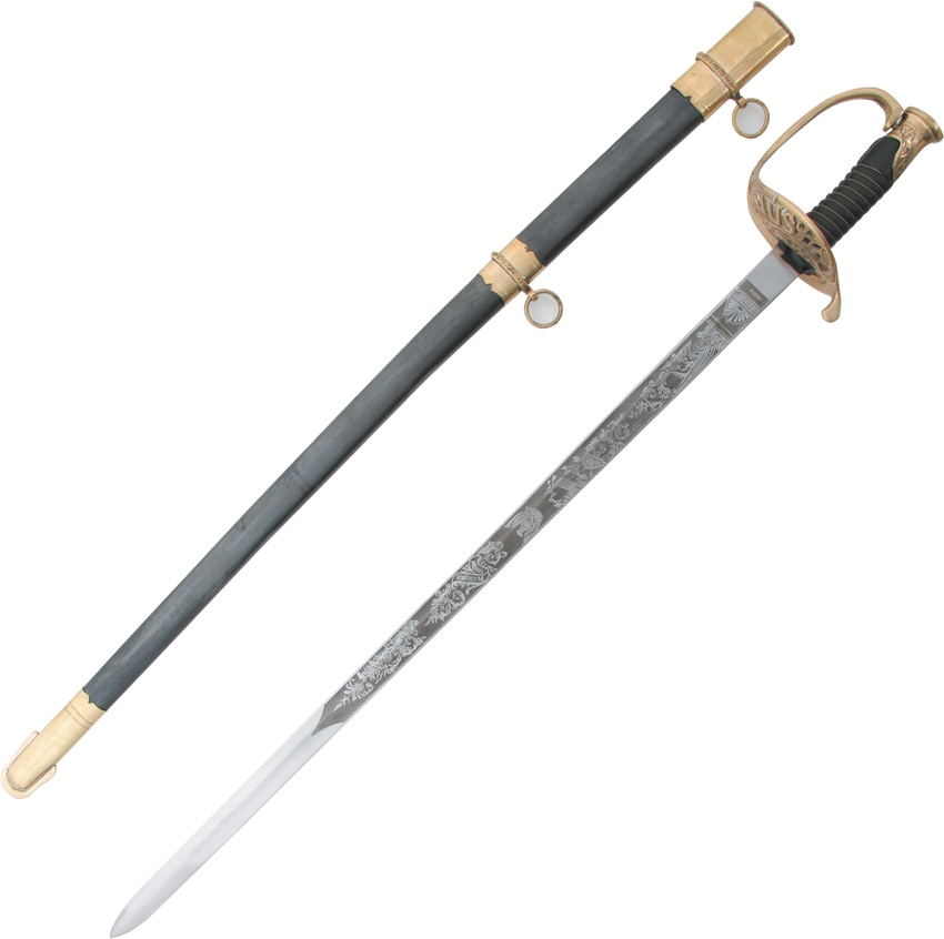 India Made PA917 US Cavalry Sword