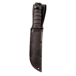 KA-BAR 1211S Black Leather Sheath Only for 7.00 in. Blade