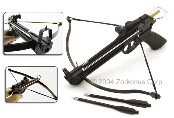 Pistol Crossbow, 50 Pound, Zytel