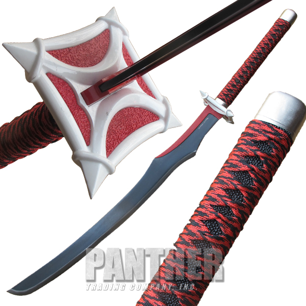 Red Danger Samurai Sword