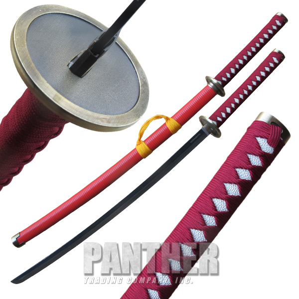 Red Jacket Katana Samurai Sword