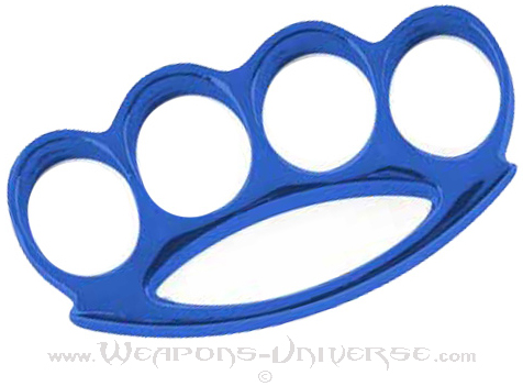 Renegade Brass Knuckles, Blue, Medium