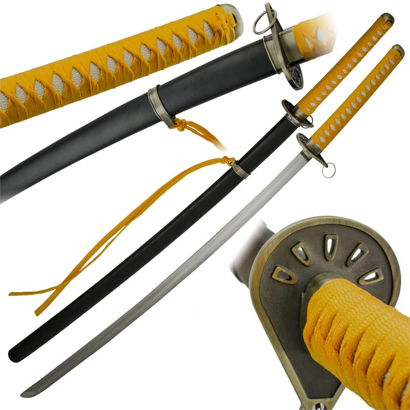 Replica Yellow Katana Samurai Sword