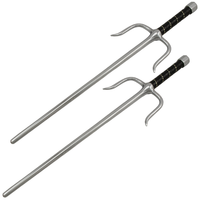 Sai Set Fantasy Swords, 21 Inch