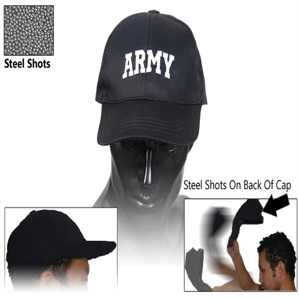 Self Defense Sap Caps - Army SAP-CAP-BK-AR