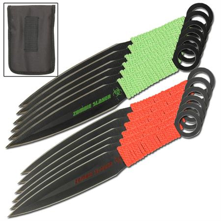 Deadly Dozen Undead Slayer Throwing Knives Set WG1042